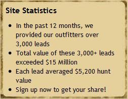 OutfitterPros.com Site Statistics